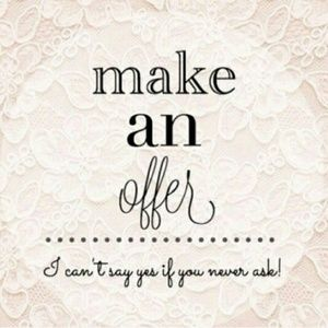 Other - Make me an offer! Happy Poshing!